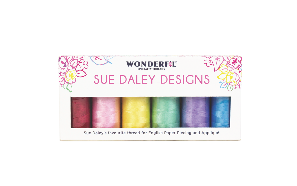 Sue Daley Brights & Neutral Thread Pack