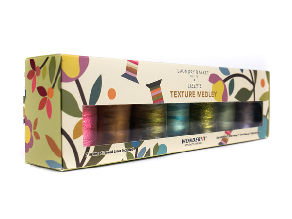 Lizzy's Texture Medley by Edyta Sitar - Mixed Thread Pack