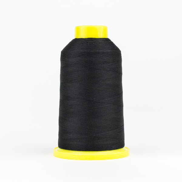 UL101 - Ultima 40wt Cotton Wrapped Polyester Black Thread - wonderfil-online-eu