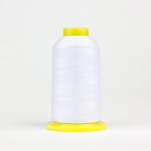 UL104 - Ultima 40wt Cotton Wrapped Polyester White Thread - wonderfil-online-eu