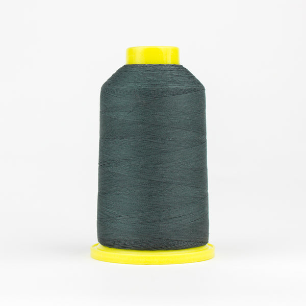 UL122 - Ultima 40wt Cotton Wrapped Polyester Metal Grey Thread - wonderfil-online-eu