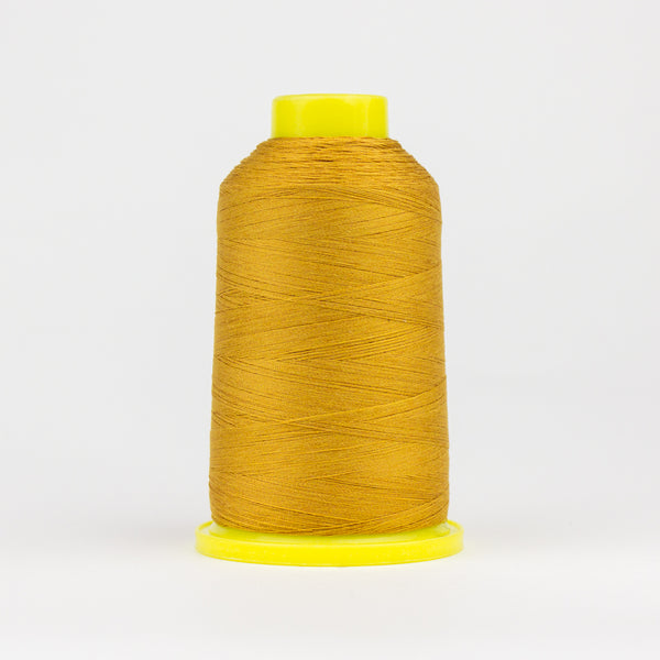 UL131 - Ultima 40wt Cotton Wrapped Polyester Golden Yellow Thread - wonderfil-online-eu