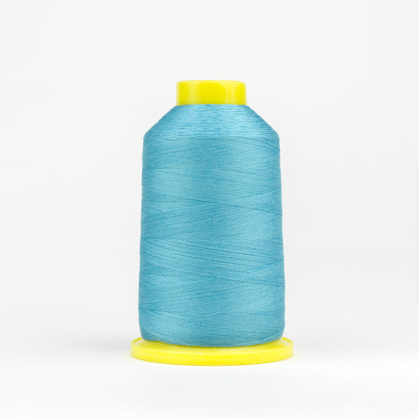 UL319 - Ultima 40wt Cotton Wrapped Polyester Aqua Blue Thread - wonderfil-online-eu