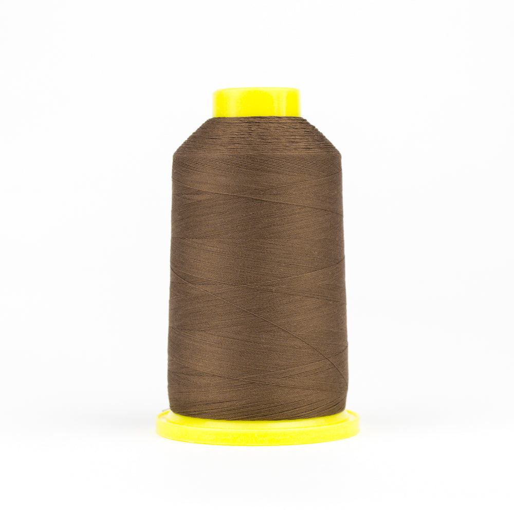 UL403 - Ultima 40wt Cotton Wrapped Polyester  Saddle Brown Thread - wonderfil-online-eu