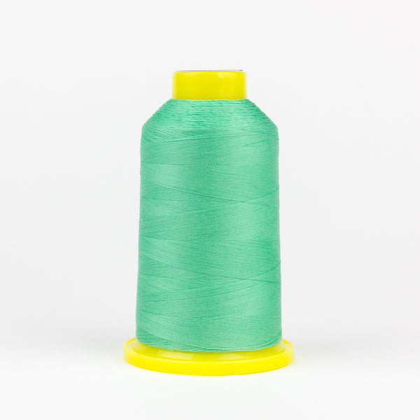 UL523 - Ultima 40wt Cotton Wrapped Polyester Mint Green Thread - wonderfil-online-eu