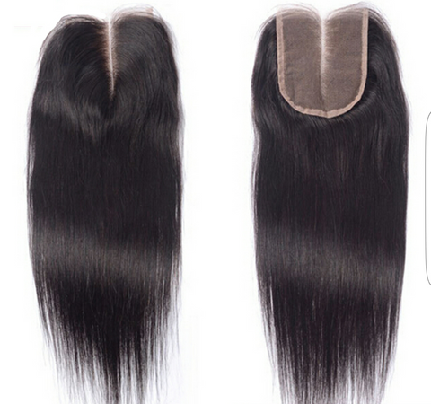 Straight Natural Black Closure