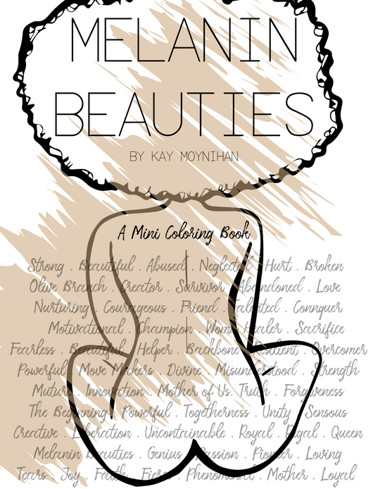 Melanin Beauties Coloring Book