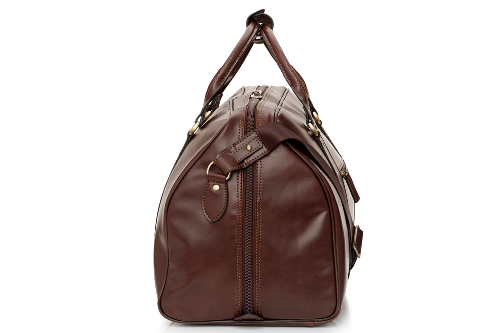 Renato Leather Overnight Bag