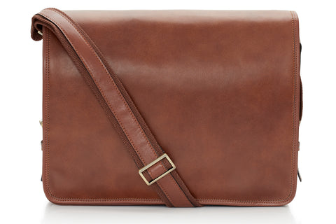 Rinaldo Leather Satchel