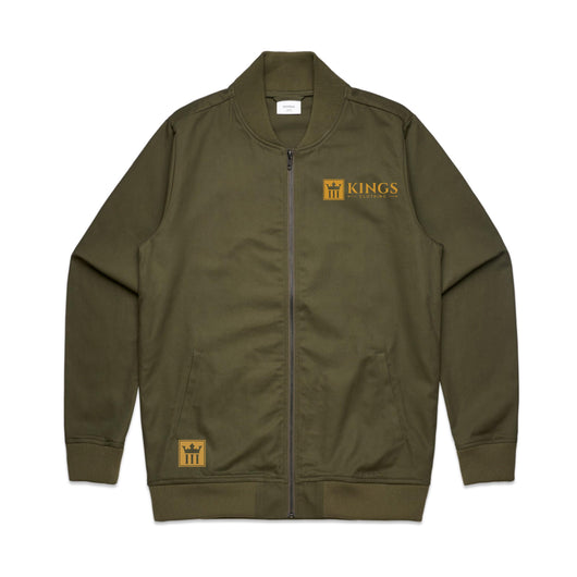 3Kings Military Green Bomber - 3KingsClothing ,blogs ,fashion, jordan , t-shirts, sweatshirts, hoodie, dad hat,