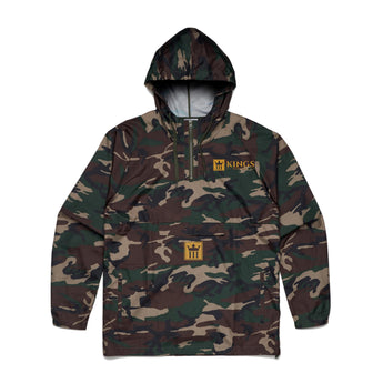 3Kings Camo Windbreaker