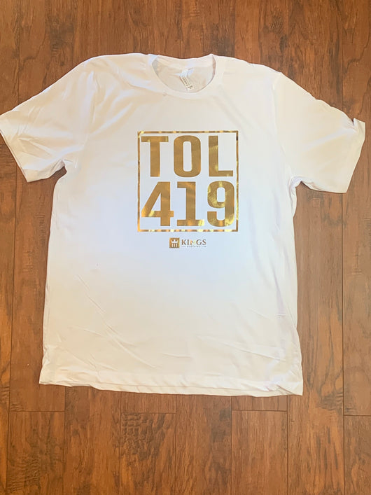 "3Kings TOL 419 ""Gold Edition "" tee"