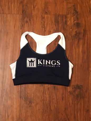 3Kings Navy/Reflective Sports bra - 3KingsClothing ,blogs ,fashion, jordan , t-shirts, sweatshirts, hoodie, dad hat,