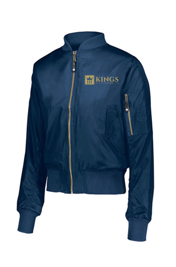 3Kings Blue/Gold Bomber Jacket