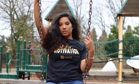 3Kings I Am My Motivation Gold foil tee - 3KingsClothing ,blogs ,fashion, jordan , t-shirts, sweatshirts, hoodie, dad hat,