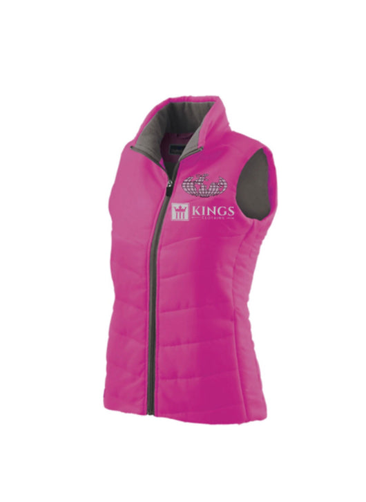 "3Kings ""Pretty in Pink"" vest"