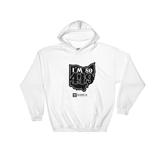 3Kings Im So 419 Dark logo Hooded Sweatshirt - 3KingsClothing ,blogs ,fashion, jordan , t-shirts, sweatshirts, hoodie, dad hat,