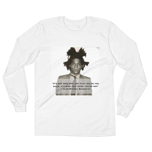 Jean-Michel Basquiat Long Sleeve T-Shirt - 3KingsClothing ,blogs ,fashion, jordan , t-shirts, sweatshirts, hoodie, dad hat,