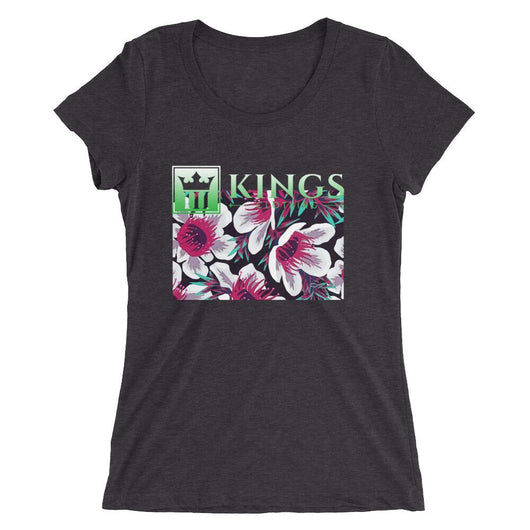 3Kings Ladies' floral Print  short sleeve t-shirt - 3KingsClothing ,blogs ,fashion, jordan , t-shirts, sweatshirts, hoodie, dad hat,