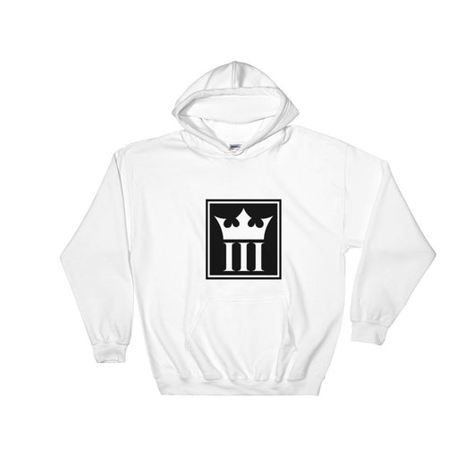 3Kins Crown Logo Hooded Sweatshirt - 3KingsClothing ,blogs ,fashion, jordan , t-shirts, sweatshirts, hoodie, dad hat,