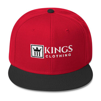 3kings Wool Blend Snapback - 3KingsClothing ,blogs ,fashion, jordan , t-shirts, sweatshirts, hoodie, dad hat,