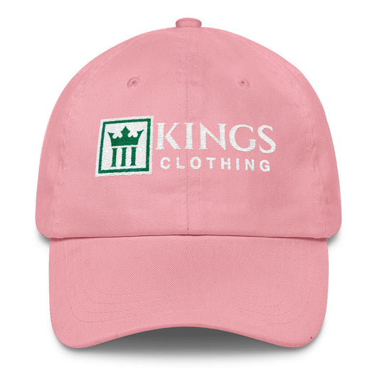 3Kings Classic 1908 Pink Dad Hat - 3KingsClothing ,blogs ,fashion, jordan , t-shirts, sweatshirts, hoodie, dad hat,