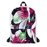 "3Kings ""Floral Print"" Backpack - 3KingsClothing ,blogs ,fashion, jordan , t-shirts, sweatshirts, hoodie, dad hat,"