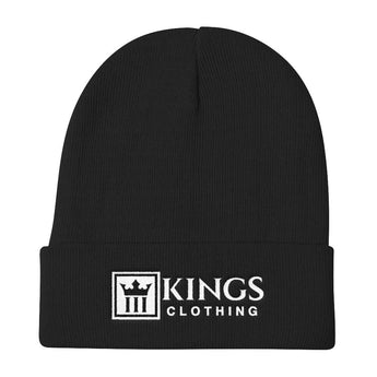 3Kings Full Logo Knit Beanie - 3KingsClothing ,blogs ,fashion, jordan , t-shirts, sweatshirts, hoodie, dad hat,