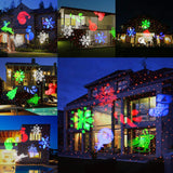 KMASHI Christmas Laser Projector Light Bright Led Landscape Spotlight Indoor Outdoor Waterproof Projection Led Lights Christmas Decorations