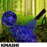 KMASHI 12 LED Pet UV Light Urine Stain Detector Blacklight Flashlight