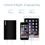 KMASHI 20000mah External Battery QC3.0 Quick Charge Power Bank