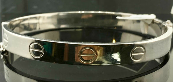 21k Bangle Solid Gold Simple Ladies Designers Ring Pattern Design B1081