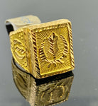 22k Ring Solid Gold Ring Men Jewelry Classic Sikh Khunda Religious Design R2044z