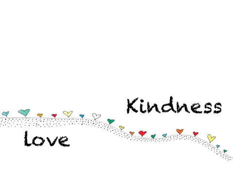 Love Kindness Notecards