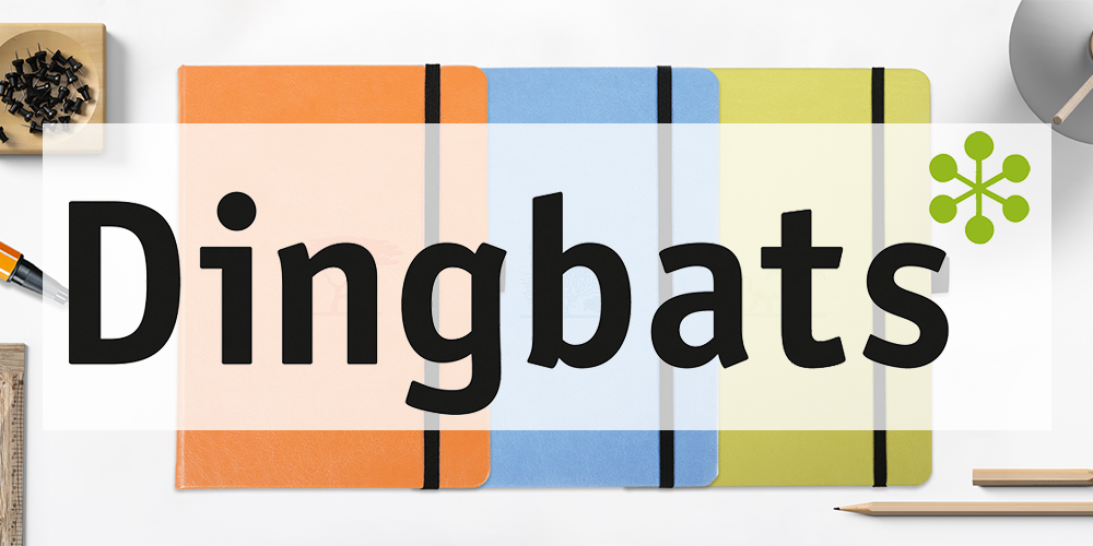 Dingbats Notebooks New Zealand