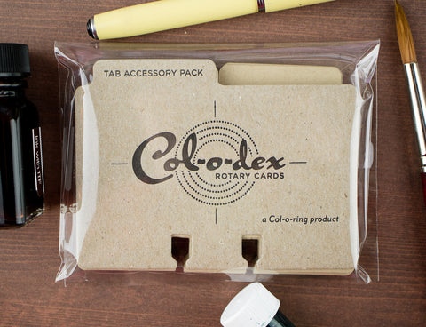 Col-O-Dex Tab Accessory Packs – Kraft Brown
