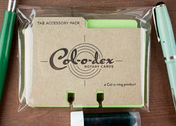 Col-O-Dex Tab Accessory Packs – Limeade Green