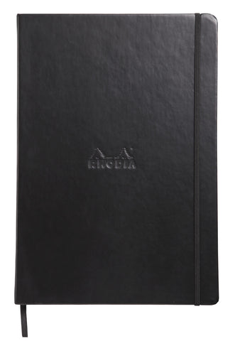Rhodia Webnotebook A4 Black Dot Grid