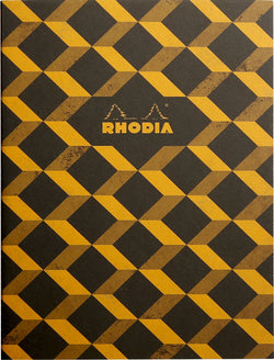 Rhodia Heritage A5 Sewn Spine Notebook Lined - Escher Black