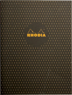 Rhodia Heritage A5 Sewn Spine Notebook Lined - Moucheture Black