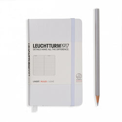 Leuchtturm 1917 Pocket Lined - White