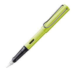 Lamy Al-Star Fountain Charged Green