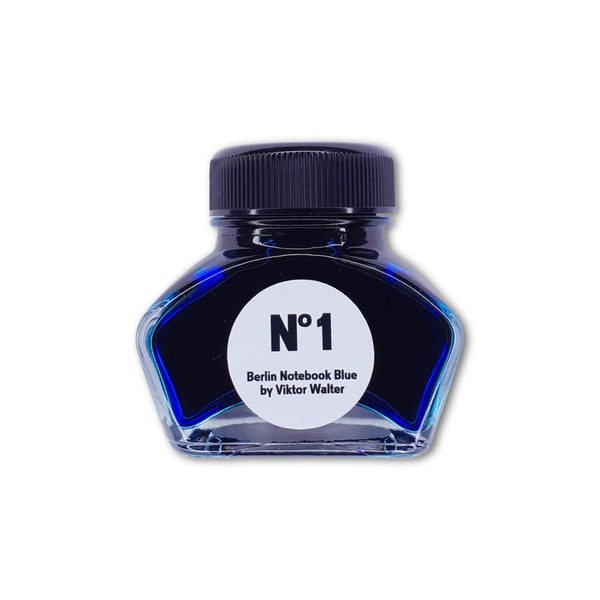 Berlin Notebook No. 1 Blue by Viktor Walter 30ml // Register for Updates