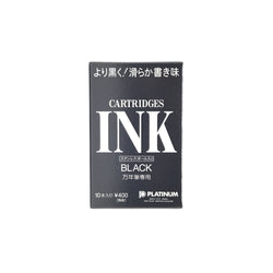Platinum Dye Black Cartridge 10 Pack