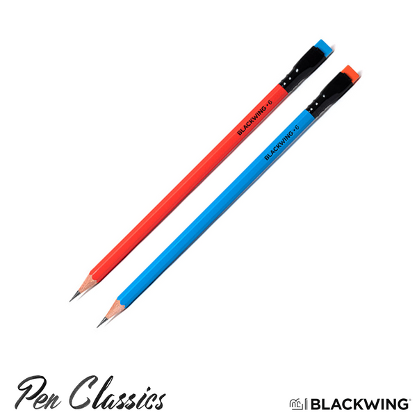 Blackwing Volumes 6 Red and Blue Pencils