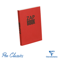 Clairefontaine Zap Recycled A5 Sketch Book – Red