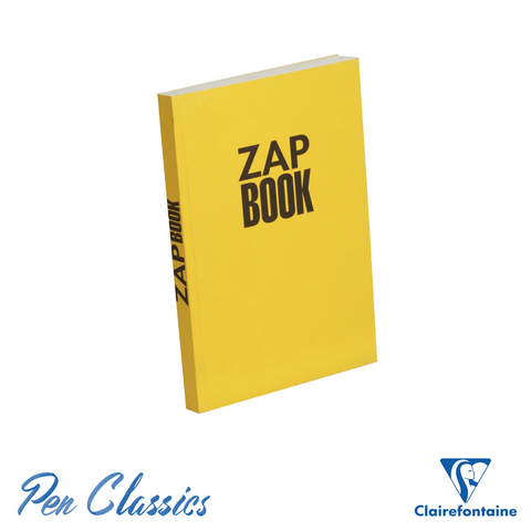 Clairefontaine Zap Recycled A5 Sketch Book – Yellow