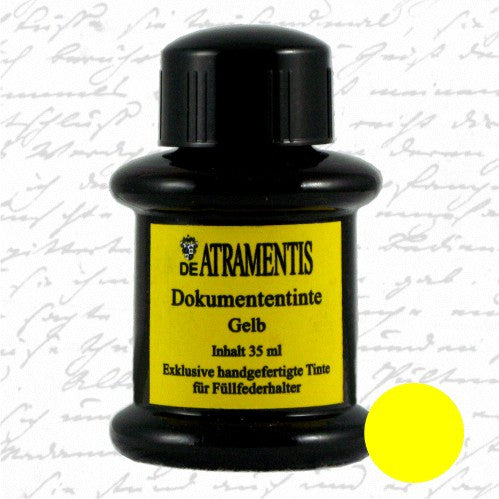 De Atramentis Document Ink Yellow 35ml