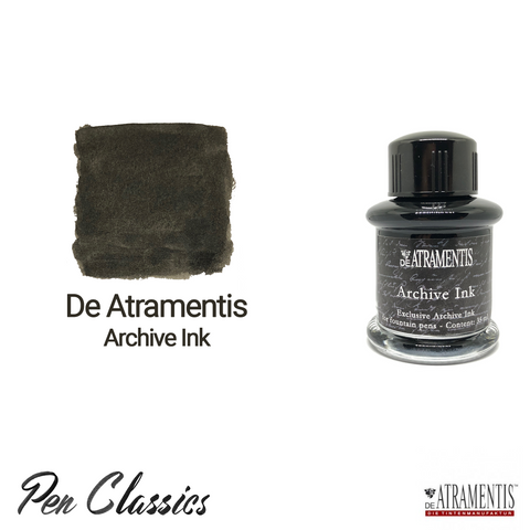 De Atramentis Archive Ink Ink Bottle and Swab