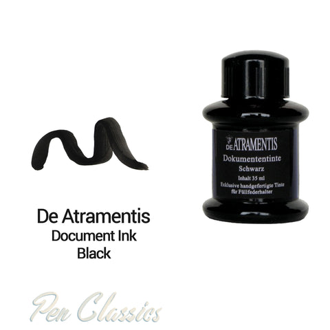 De Atramentis Document Ink Black 35ml